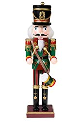 Traditional Drummer Soldier Nutcracker by Clever Creations...