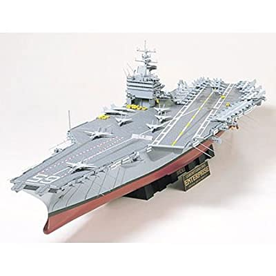 Tamiya America, Inc 1/350 USS Enterprise Carrier, TAM78007: Toys & Games