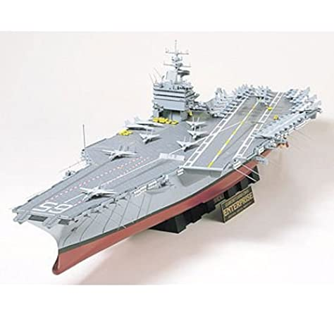 Tamiya 300078007 - Maqueta del portaaviones US CVN-65 Enterprise (Escala: 1:350): Amazon.es: Juguetes y juegos