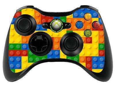Lego brick xbox 360 remote controller gamepad skin vinyl cover vinyl xbr1