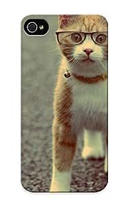 Dhstlu-375-gojrqqd With Unique Design Iphone 5/5s Durable Tpu Case Cover Animal Cat