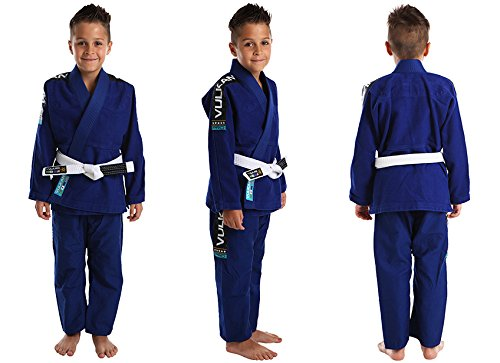 Vulkan Pro Light Jiu-Jitsu Gi ADULT & KIDS sizes+ Free Submission and Position Videos + 30 Day Comfort Guarantee + IBJJF Approved