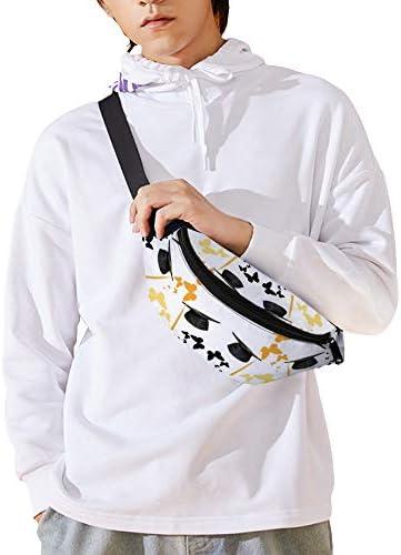 卒業キャップ ウエストバッグ ショルダーバッグチェストバッグ ヒップバッグ 多機能 防水 軽量 スポーツアウトドアクロスボディバッグユニセックスピクニック小旅行