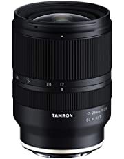 Tamron 17-28mm f/2.8 DI III Rxd for Sony Mirrorless Full Frame E Mount 6 Year Limited USA Warranty