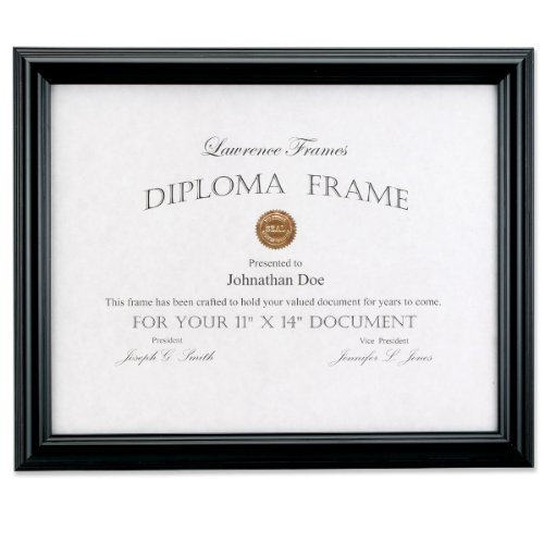 Domed Top Picture Frame in Black