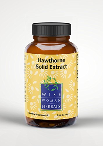 Wise Woman Herbals - Hawthorn Solid Extract - 8 oz by Wise Woman Herbals