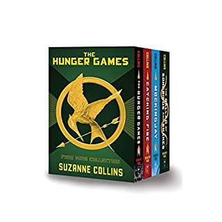 Hunger Games 4-book Hardcover Box Set (The Hunger Games, Catching Fire, Mockingjay, The Ballad of Songbirds and Snakes)
