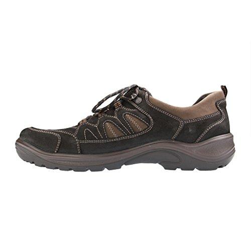 Waldläufer 415900-950-768 Hayo, Scarponcini da camminata ed escursionismo uomo Nero