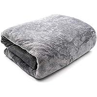 بطانية ناعمة من الصوف الخفيف من فايجو مقاس كينغ 200*220 سم مناسبة لكل المواسم، بطانية ناعمة للسرير أو الاريكة