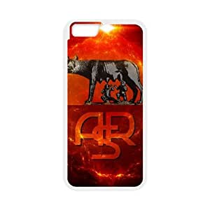 As Roma Logo iPhone 6 4.7 Inch Cell Phone Case White Fantistics gift A_972211