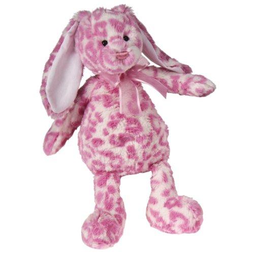 "Mary Meyer 12"" Bubble Gum Bunny (Leopard Print)"