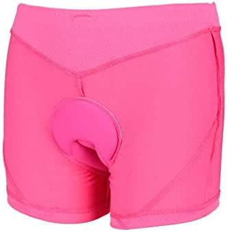 Republe Men/Women Silicone Sponge Breathable Padded Bicycle Cycling Underwear Shorts