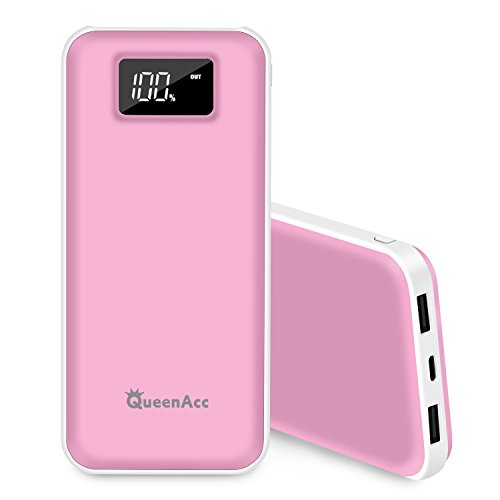 20000mAh Power Bank (Pink) - 1