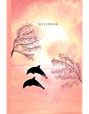 NOTEBOOK: 240-page lined notebook designed by blind artist, Violet Peterson