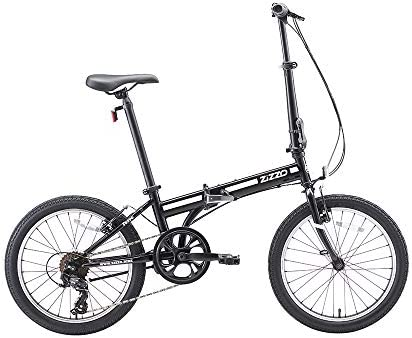 ZiZZO EuroMini Ferro 20 29 lbs Light Weight Folding Bike