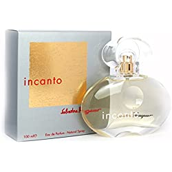 Incanto By Salvatore Ferragamo For Women. Eau De Parfum Spray 3.4 Oz.