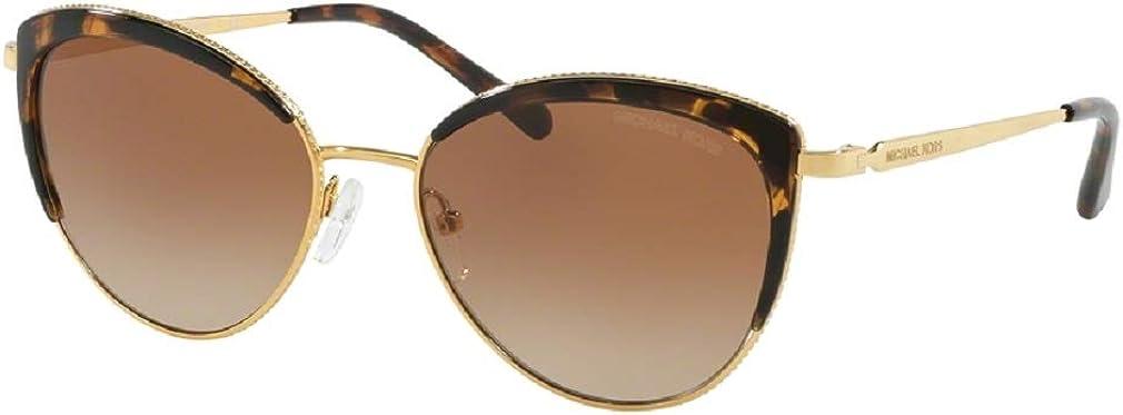 Michael Kors MK1046 KEY BISCAYNE Cat Eye Sunglasses For Women+FREE Complimentary Eyewear Care Kit