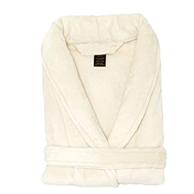 TowelRobes Tahoe Microfleece Shawl Collar Unisex Robe