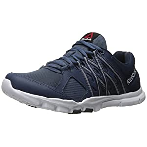 Reebok Mens Yourflex Train Collegiate Navy//Cloud Gre Running Shoes Size 12