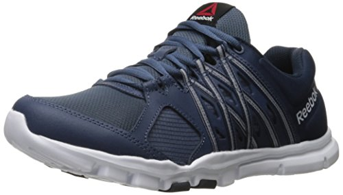 Reebok Herren Yourflex Train 8.0 L MT Trainingsschuh Royal Slate / Collegiate  Marine / Weiß