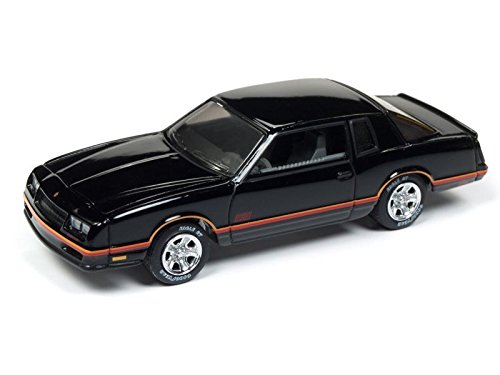 Johnny Lightning JLCG013 Classic Gold Ver A 1987 Chevy Monte Carlo Aerocoupe - Johnny Lightning Classic Car
