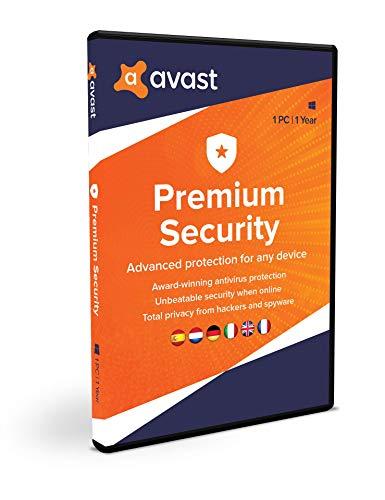 Avast Premium Security | 1 PC | 1 jaar | Box