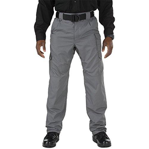 (5.11 Tactical Men's Taclite Pro EDC Pants, Storm, 42-Waist/32-Length)