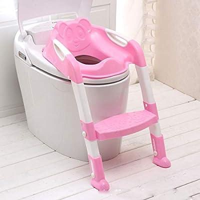 KUANDARYJ Adaptador WC Escalera infantile, Asiento para WC con Paso Plegable para Niños, P: Amazon.es: Deportes y aire libre