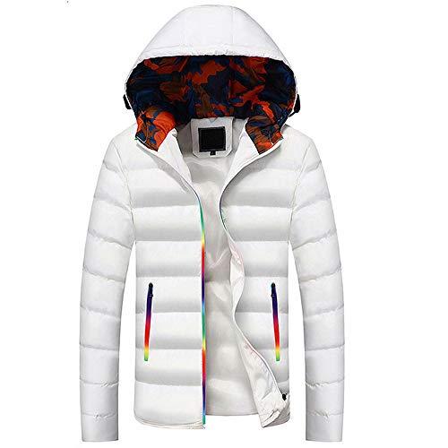 hooded coats winter teen boys warm cotton