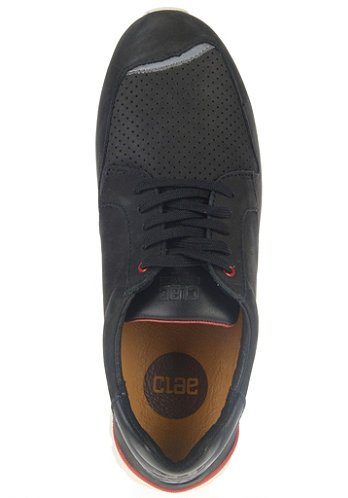 Clae Mens Nathan Black Nubuck 8.5 Boots Sneakers CLA01283