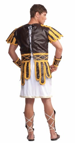 [Forum Roman Emperor Complete Adult Costume, Brown, Standard] (Roman Emperor Costume Accessories)