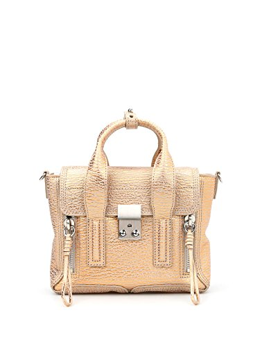Leather 3 AP160226MSABE109 Phillip 1 Handbag Lim Women's Gold qzYqUrw