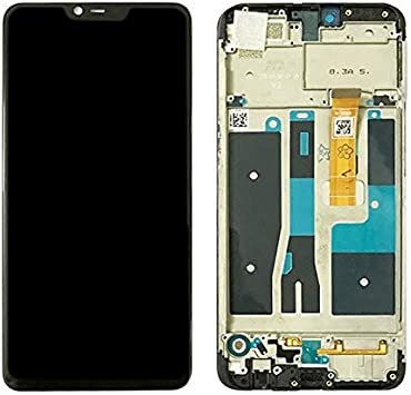 WHZ LCD Screen and Digitizer Full Assembly with Frame for Oppo A5 Black Color : Black