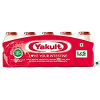 Yakult Probiotic Health Drink Bottle, 5 X 65 ml