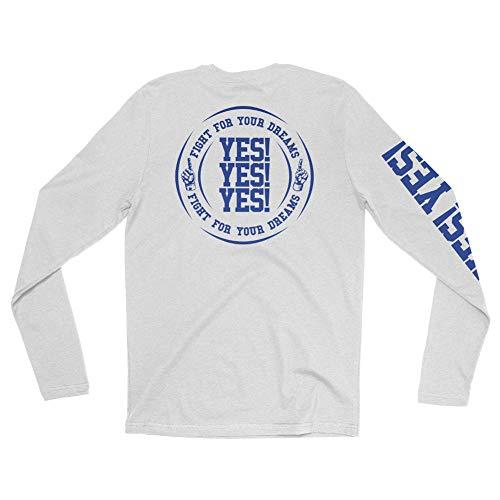 Daniel Bryan Yes is Back Long Sleeve T-Shirt Multi Medium (Daniel Bryan Yes Yes Yes T Shirt)