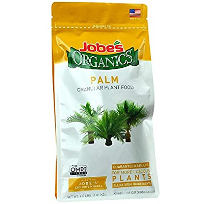 Jobe's Organics Palm Tree Fertilizer, 4 lb
