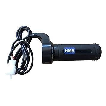 HMParts E - Scooter E- Bike Hallgeber Gasgriff - Set 12-48 V: Amazon ...