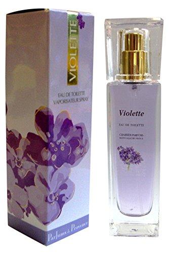 Charrier Parfums Gamme Provence Spray Eau de Toilette Violette 30 ml