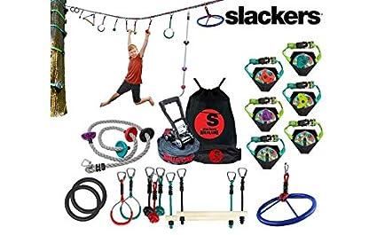 95449f8ef Amazon.com: Slackers Extreme Ninjaline Kit (30' & 50' Varieties) (50 ...