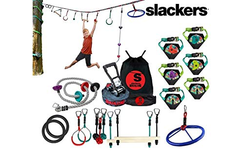 (Slackers Extreme Ninjaline Kit (30' & 50' Varieties) (30') )