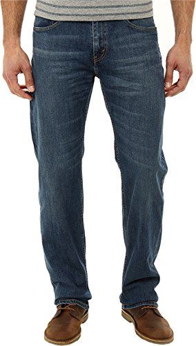 Levi's Men's 559 Relaxed Straight Fit Jean - 34W x 30L - Steely Blue - Stretch by Levi's