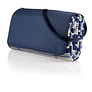 Picnic Time 'Outdoor Picnic Blanket Tote XL', Blue Stripe