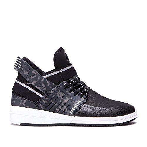 Supra Mens Skytop V Shoes Size 7.5 Black - White - Supra Skytop Sneakers