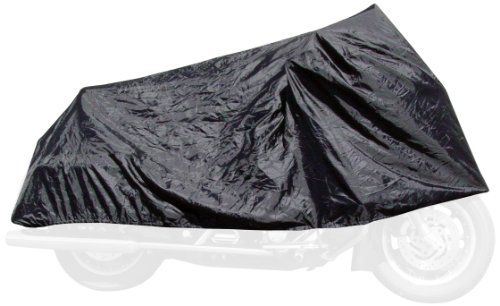 (Dowco Willie & Max 51111-00 Travel Ready Water Resistant Compact Motorcycle Cover: Black, Universal Fit)