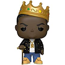 Funko POP Rocks: music-notorious B.I.G. con corona Coleccionable Figura, multicolor