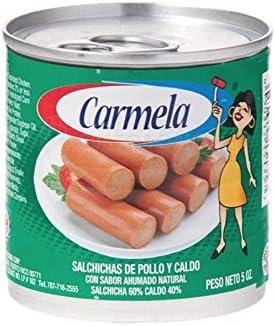 Amazon.com : Salchichas Carmela De Pollo, Chicken Vienna Sausage (20 Count) : Grocery & Gourmet Food