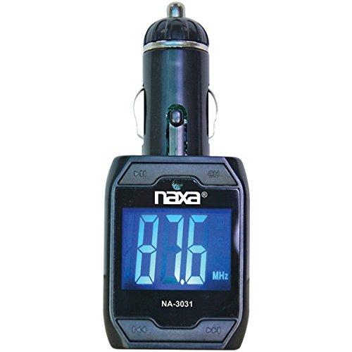 NAXA NA-3031 Wireless FM Transmitter with Built-in MP3 Playe