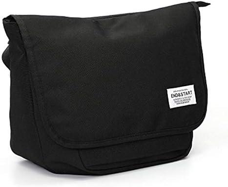 ショルダーバッグ メンズ 斜めがけ メッセンジャー バッグ iPad 9.7インチ収納可能 多機能 オクスフォード生地 ブラック