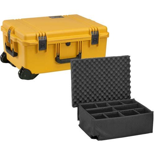 Pelican Storm IM2720-20002  Pelican Storm iM2720 Case with Padded Divider Set, (Yellow)