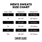 Fashion Shopping Comfort Colors Men's Adult 1/4 Zip Sweatshirt, Style 1580